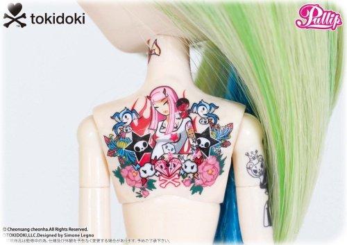 les tatou de cette pullip son trop flachi!!