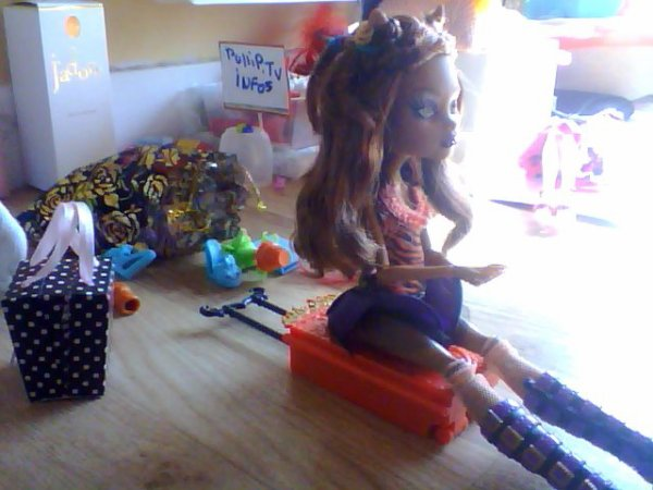 Photo Story Monster High : Les Vacances !!! partie:1