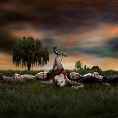 """Site pour les """"à crocs"""" de la série The vampire diaries."""