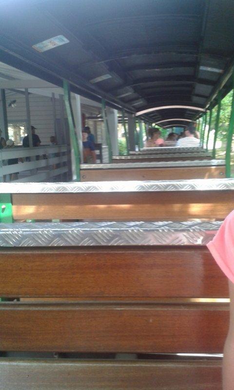 on na fait le tour du petit train