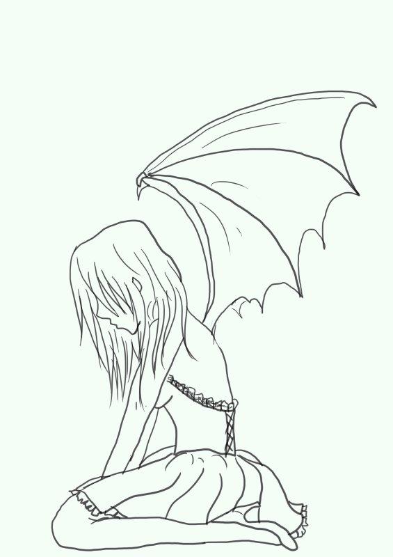 Poss d e par le d mon le dessin manga et comics - Dessin de demon ...