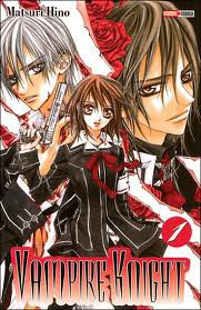 et le 2 manga que j ai vu Vampire Knight