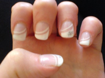Mes ongles il y a quelques temps