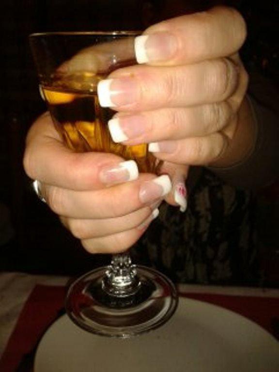 Les ongles de ma soeur pour les fêtes