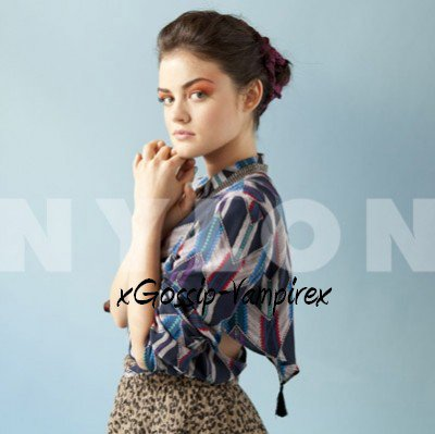 Photoshoot Lucy Hale Nylon