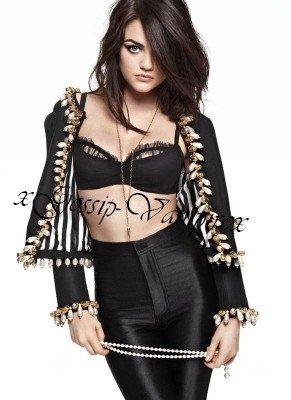 Lucy Hale pour Cosmopolitain ♥
