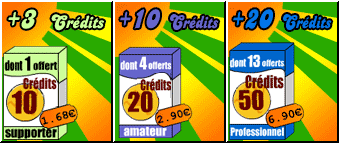 Achats [03-04] : Abonnements / Packs