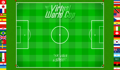 Terrain de la Virtual World Cup