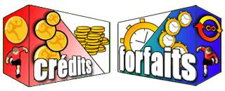 Crédits et Abonnements