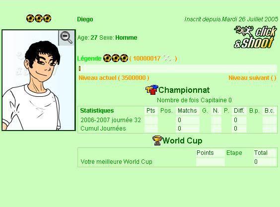 Diego, le webmaster de Click Shoot !