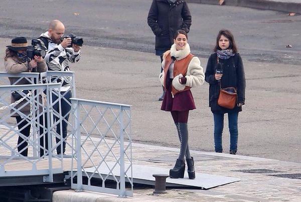 Interview à Paris