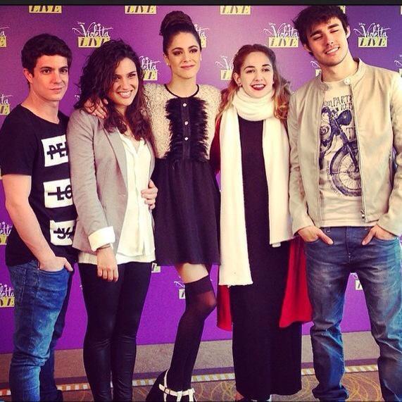 Conférence de Presse en Pologne + Violetta Live