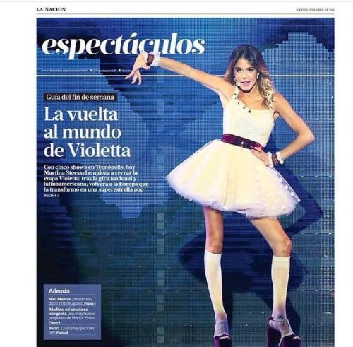 Conférence de Presse à Buenos Aires + La Nacion