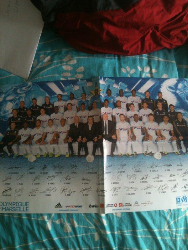 Joueurs Olympique de Marseille
