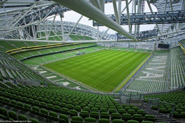 Aviva stadium, l'actuel stade de l'Irlande à Dublin (2/2)