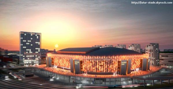Swedbank Arena, le futur stade de l'équipe nationale de Suède (1/2)