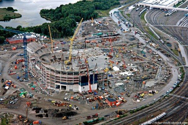 Swedbank Arena, le futur stade de l'équipe nationale de Suède (2/2)