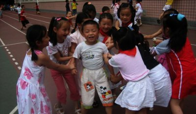 The child is too much。。。。。