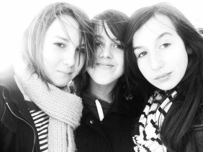 Morgane, Moi & Emma <3