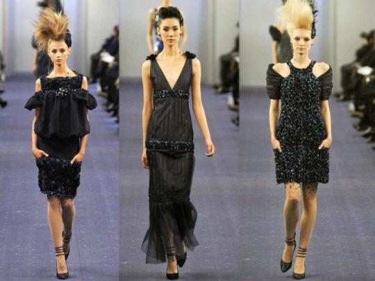 >Défile Chanel Haute Couture printemps-été 2012