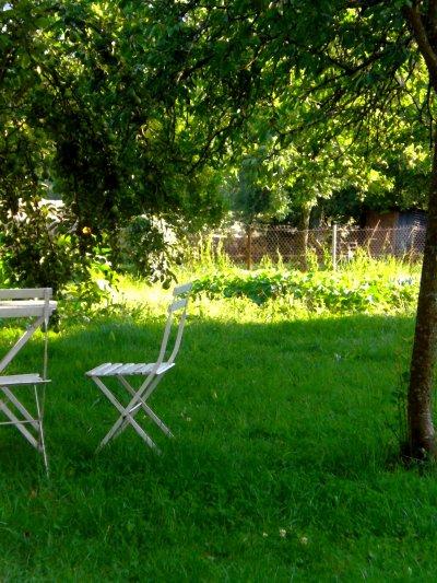Jardin de campagne ...