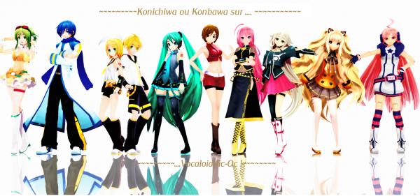 Konichiwa ou Konbawa !