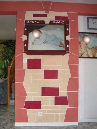 Blog de farce2005 fabrication pierre decorative et dalle pour sol et pose carrelage - Decorateur exterieur ...