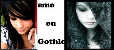 Emo ou Gothic ?