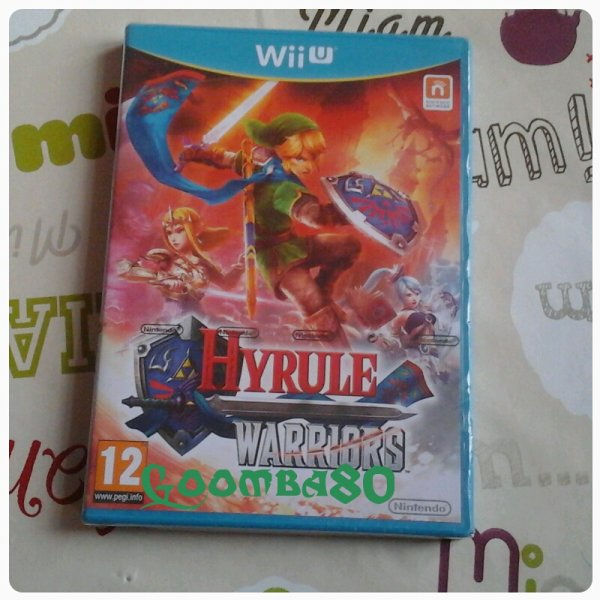 viens de recevoir Hyrule warriors :)) <3