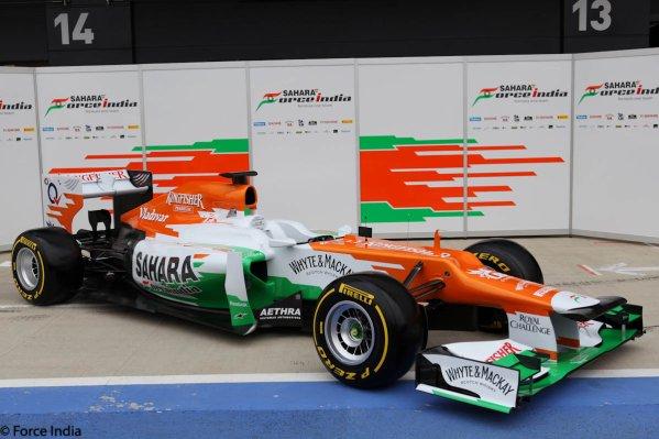 Force India F1 Team / VJM05