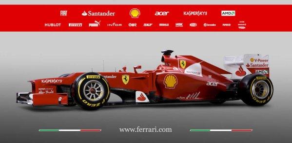 Scuderia Marlboro Ferrari / F2012