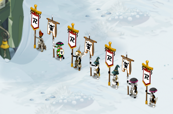 Des Kamas, de l'xp et on avance dans frigost avec les mules !