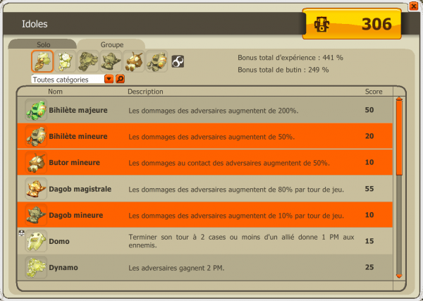 Team full 200, nouvel ornement et Début de frigost 3 !