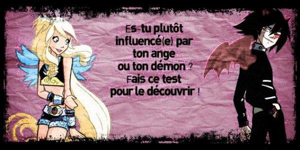 Es-tu plutôt ange ou démon ?