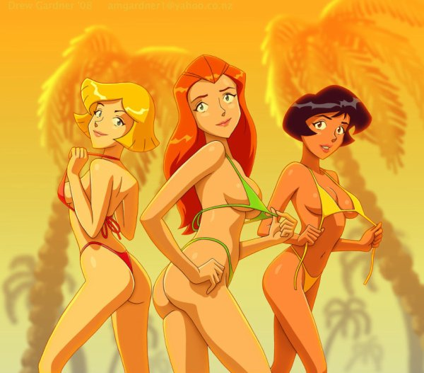 sexy Totally Spies