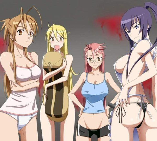 Higt school of the dead girls
