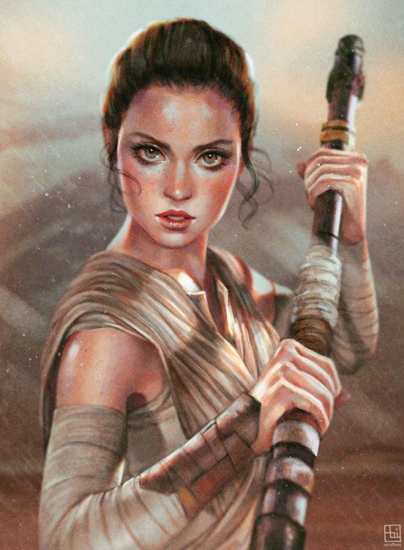 Rey Star wars 7
