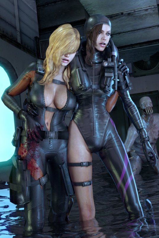 Resident evil girls