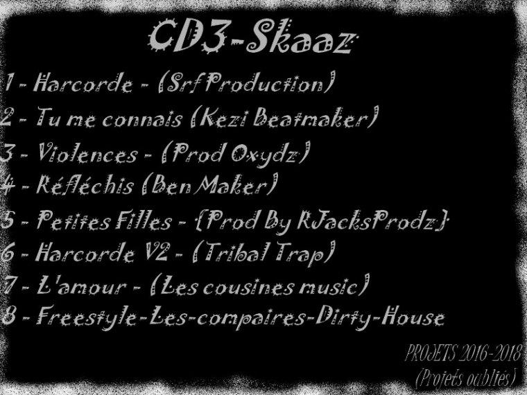CD3-Skaaz / Skaaz - Réfléchis (Ben Maker) (2018)