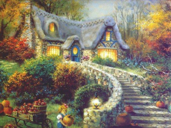 Ce doux et chaud chant d'automne.