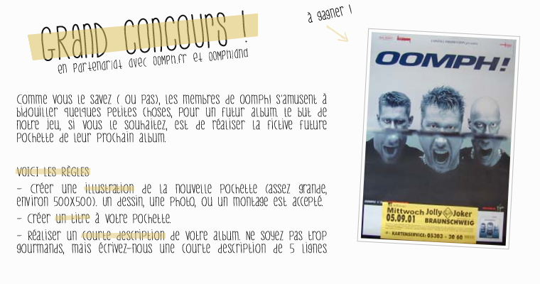 13 - Concours !
