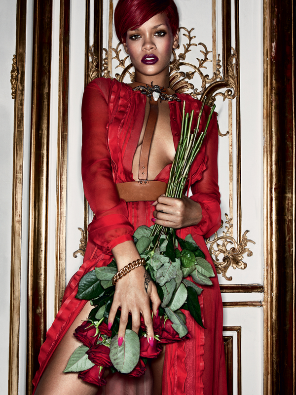 Rihanna for Interview Magazine ( December 2010 )