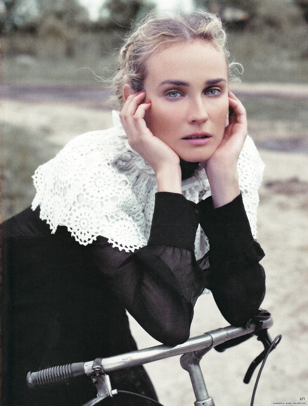 Diane Kruger for Vogue Germany ( October 2009 )