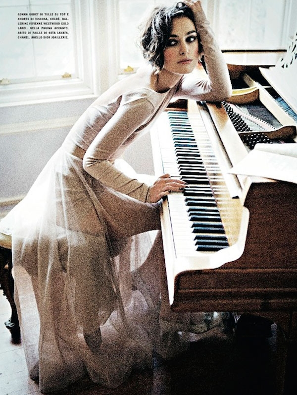Keira Knightley for Vogue Italia ( January 2011 )
