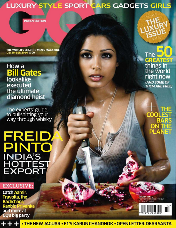 Freida Pinto for GQ India  ( December 2010 )