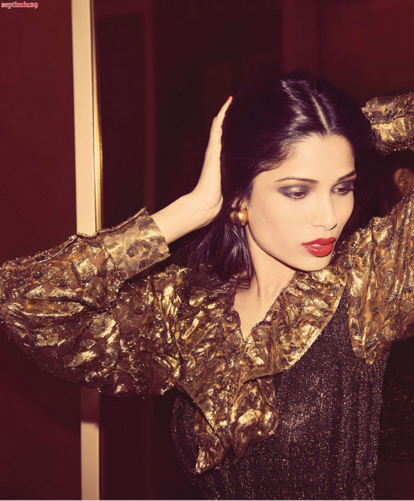 Freida Pinto for BlackBook ( November 2010 )