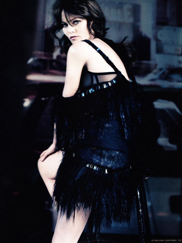 Vanessa Paradis for i-D  ( Spring 2011 )