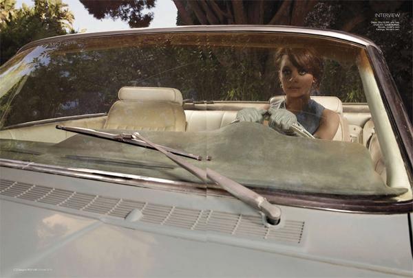 Nicole Richie for Harper's Bazaar Arabia( Ocotber 2010 )