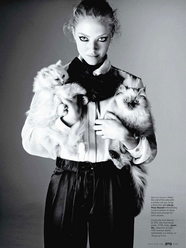 Amanda Seyfried for Elle US ( April 2011 )