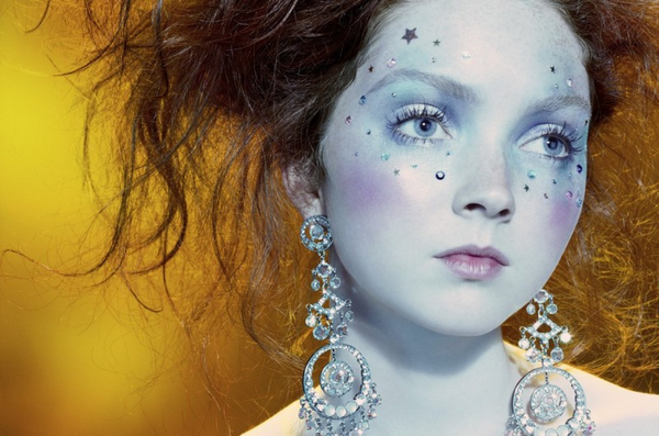 Lily Cole for Vogue Italia ( August 2006 )